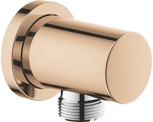 Wandanschlussbogen GROHE Rainshower Classic 27057DA0 warm sunset poliert