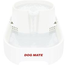 Fontaine à eau Dog Mate 6 l 37x28x17cm blanc-thumb-0