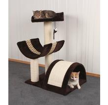Arbre à chats Safari XL 59x46x83cm marron beige-thumb-1