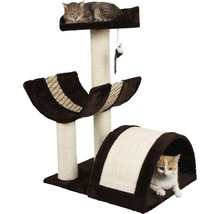 Arbre à chats Safari XL 59x46x83cm marron beige-thumb-0