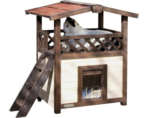 Maison pour chat 4-Seasons Deluxe