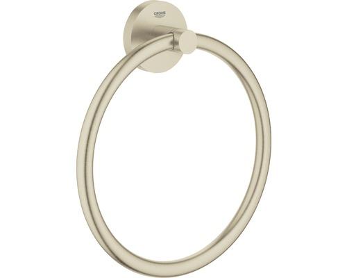 Anneau porte-serviettes GROHE Essentials nickel brossé 40365EN1