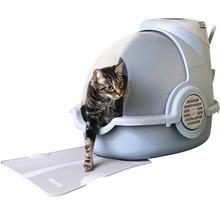 Toilettes pour chats Oster avec désodorisant électronique 65x45x48cm bleu gris-thumb-2