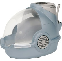 Toilettes pour chats Oster avec désodorisant électronique 65x45x48cm bleu gris-thumb-0
