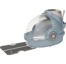 Toilettes pour chats Oster avec désodorisant électronique 65x45x48cm bleu gris-thumb-4