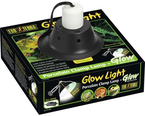 Exo Terra Lampe en porcelaine Glow Light, 21 cm