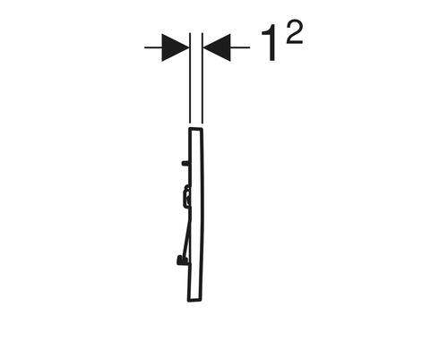 Bever /& Klophaus Drückergarnitur 9//72 mm PZfür FH-//Stahltüren