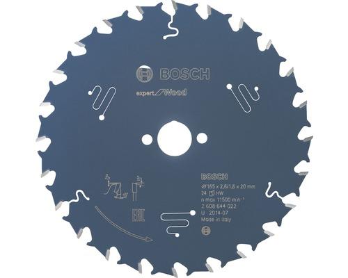 Lame de scie circulaire Export for Wood H Ø 165x20 Z 24-0