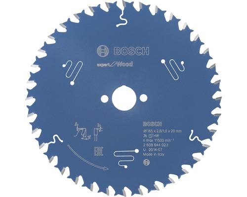 Lame de scie circulaire Export for Wood H Ø 165x20 Z 36-0