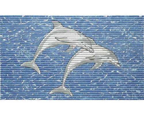 Universalmatte Weichschaum Delfin 80x50 cm