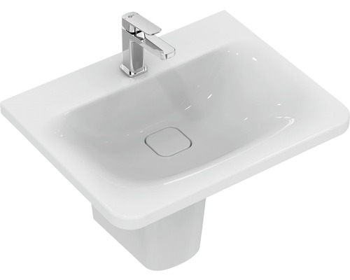 Meuble de lavabo Ideal STANDARD Tonic II 61,5 cm avec bonde de vidage IdealFlow blanc K087801-0