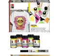 Marabu Textil Neon Set 7-teilig