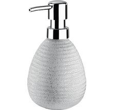 Distributeur de savon céramique Polaris Juwel argenté-thumb-0