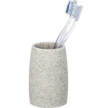 Gobelet pour brosses à dents Goa gris clair-thumb-1