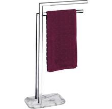 Porte-serviettes Onyx chromé/marbre-thumb-2