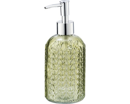 Distributeur de savon Vetro verre/vert