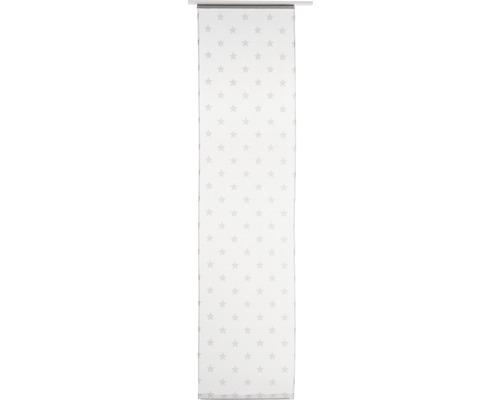 Panneau japonais Stars Allover blanc 245x60cm-0