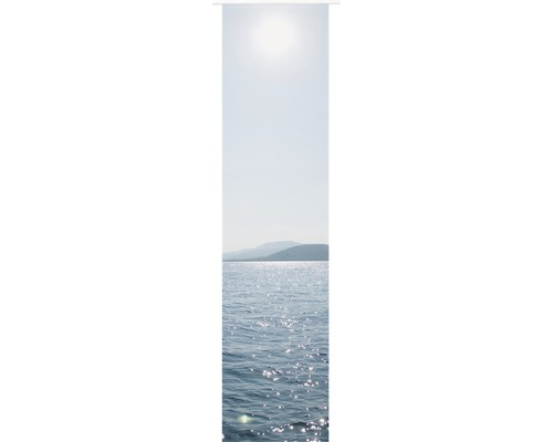 Panneau japonais Ocean bleu 245x60cm-0