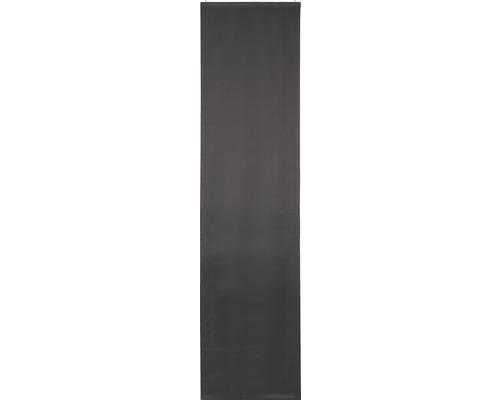 Schiebegardine Midnight grau 245x60 cm
