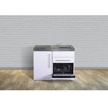Kitchenette stengel Premiumline largeur 110 cm MPGS110 KS induction bac à droite-thumb-0