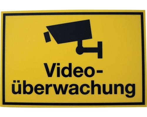 Panneau «Videoüberwachung» 200x300 mm