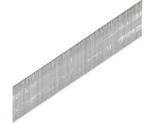 Clous à tête plate 34° 1,8 x 50mm, 2000 pces