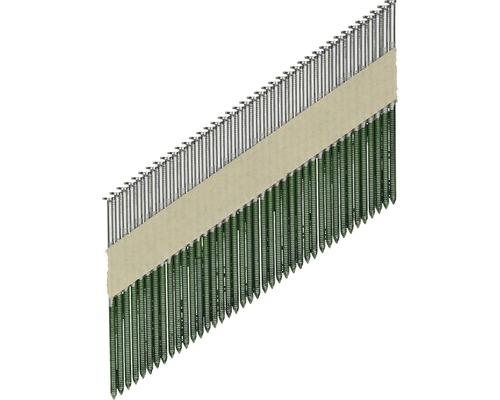Pointes annelées 34° 3,1 x 90mm, 2500 pces
