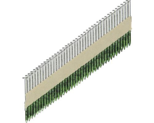 3000 clous en bande 34° 2,8 x 50mm, galvanisés