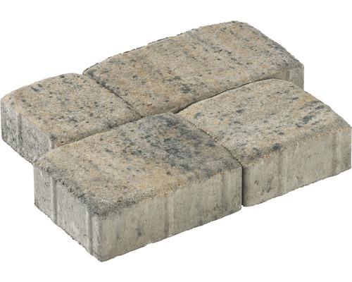 Pavé multiformat iWay Life calcaire coquillier épaisseur 6 cm (disponible uniquement par couches)