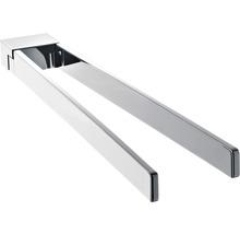 Porte-serviettes Emco Art à 2bras pivotant chrome 165000143-thumb-0