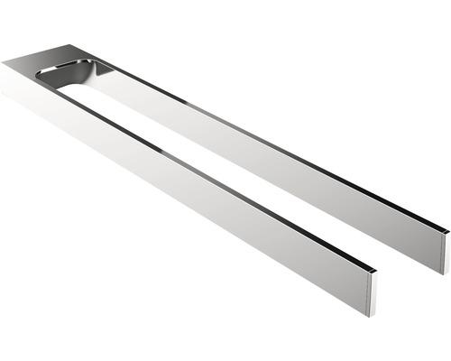 Porte-serviettes Emco Art à 2bras chrome 165000145-0