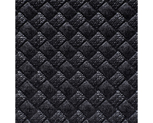 Tapis de coffre et tapis brosse anthracite 100x120cm
