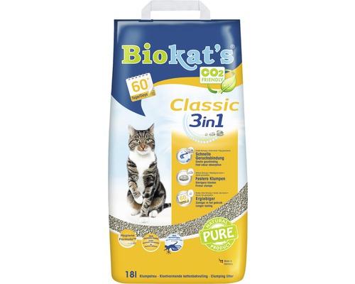 Katzenstreu Biokats Classic 3in1 18 l