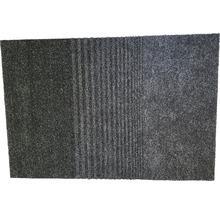 Paillasson anti-salissures Triplebrush noir 90x133 cm-thumb-1