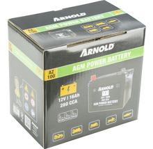 Batterie MTD sans entretien pour les tracteurs tondeuses AZ 100 AGM-thumb-1