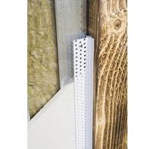 Profilé de raccordement PVC PP 9,5 mm avec lèvre d''étanchéité longueur 3,00 m botte = 35 pièces-thumb-2