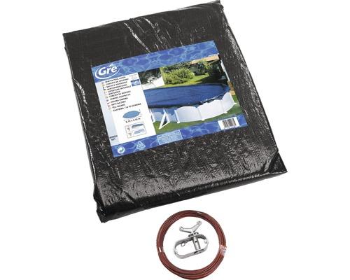 Bâche de protection pour piscine Extra 500 x 300 cm pour bassin oval