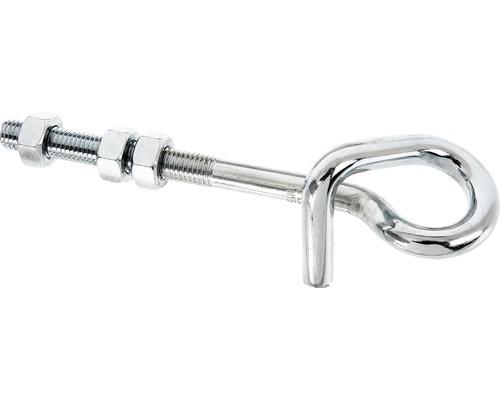 Crochets de balançoire pour visser 180x70mm, électrozingués