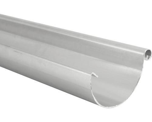 MARLEY Dachrinne Halbrund Aluminium NW 100 Länge: 2 m