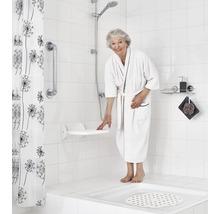 Siège pliant pour douche Eco blanc-thumb-2