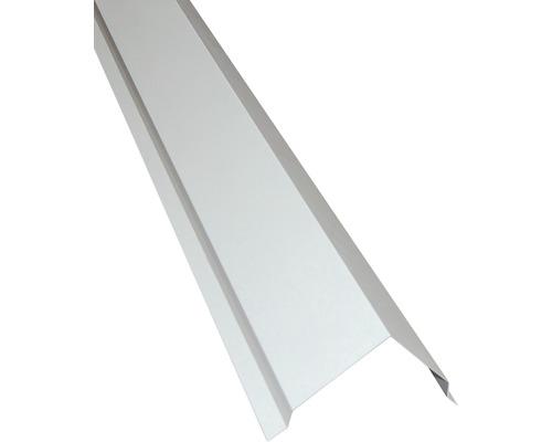 Profilé angulaire PRECIT extérieur pour panneaux sandwich RAL 9002 gris blanc longueur 2 m