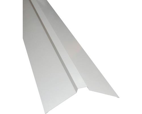 Faîtage PRECIT droit pour panneaux sandwich RAL 9002 gris blanc longueur 2 m