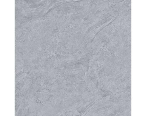 Carrelage pour mur et sol en grès cérame fin Onyx gris verre poli rectifié 60x60cm
