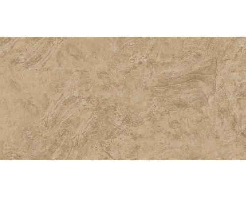 Carrelage pour mur et sol en grès cérame fin Onyx marron verre poli rectifié 30x60cm
