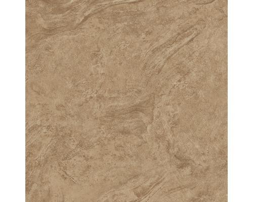 Carrelage pour mur et sol en grès cérame fin Onyx marron verre poli rectifié 60x60cm