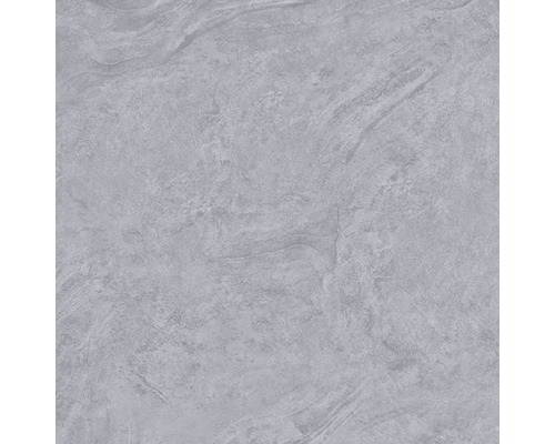 Carrelage pour mur et sol en grès cérame fin Onyx gris verre poli rectifié 80x80cm