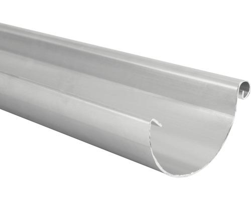 MARLEY Dachrinne Halbrund Aluminium NW 80 Länge: 2 m