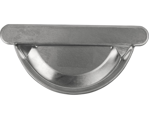 MARLEY Rinnenendstück Aluminium rechts und links zum kleben NW 100