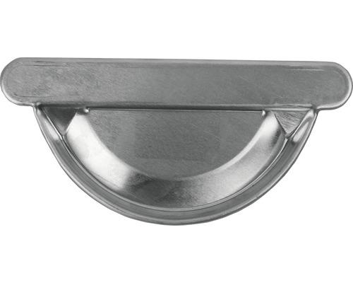 MARLEY Rinnenendstück Aluminium rechts und links zum kleben NW 80