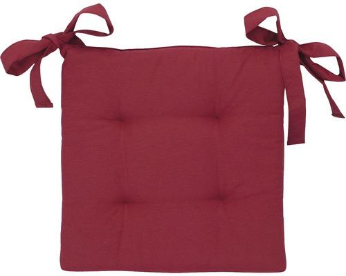 Galette de chaiseKassel rouge 40x40x7cm